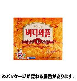 『クラウン』韓国語版バターワッフル 36枚(12袋入) <韓国お菓子・韓国スナック>フレゼント用ハングル表記です