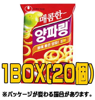 『農心(ノンシム)』辛口ヤンパリング(■BOX 20入) <韓国お菓子・韓国スナック>