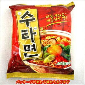 『三養(サムヤン)』手打麺(スタミョン) <韓国ラーメン>