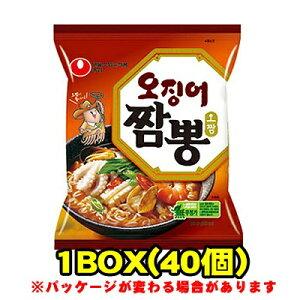 『農心(ノンシム)』イカちゃんぽん(■BOX 40入) <韓国ラーメン>