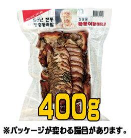【冷蔵】スライス豚足 400g <韓国食品・韓国食材>