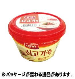 『ヤンバン』牛肉お粥 285g <韓国おかゆ・非常食・災害対策>