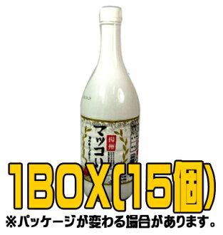 """State of Yang' pears makgeolli 1 L (■ BOX 15 pieces) < Korea doburoku >"