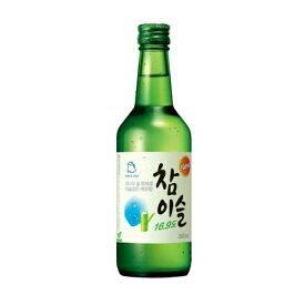 『眞露(ジンロ)』チャミスル 360ml 日本版(■BOX 20入) <韓国焼酎>16.9度