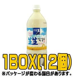 ソウル生生マッコリ 950ml(■BOX 12入) <韓国どぶろく>