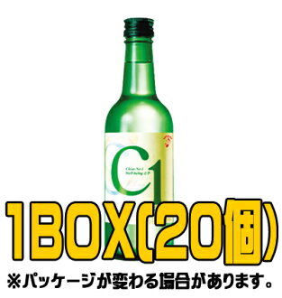 C1 soju 360 ml ( ■ BOX 20 pieces )
