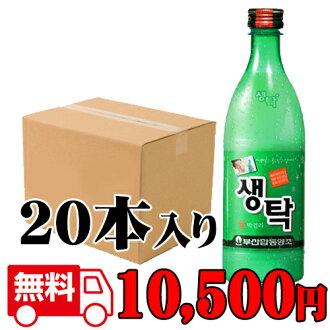 -Shipping-cool free-Busan raw makgeolli 750 ml ( ■ BOX 20 pieces ) (and Korea doburoku)