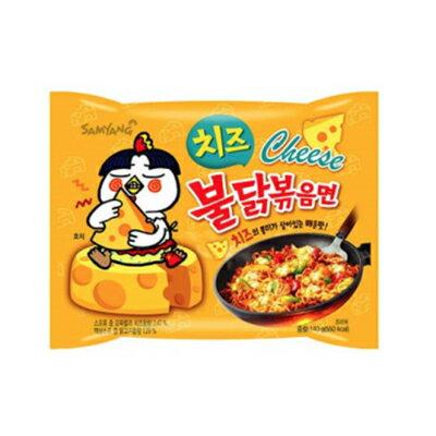『三養(サムヤン)』チーズブルタク炒め麺 <韓国ラーメン>