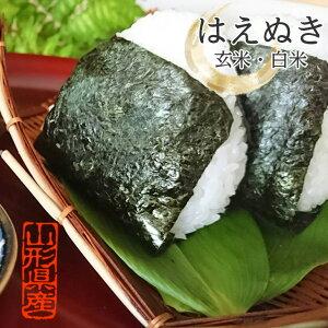 新米 はえぬき 山形県産 玄米・精米 お米 山形 10キロ 特別栽培米 5kg×2袋 白米 10kg 令和2年産