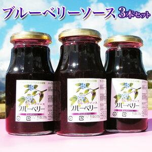 ブルーベリーソース 300g×3本 長野県産ブルーベリー使用【いつわ農産加工】