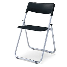 折りたたみイス 背座樹脂 軽量タイプ ブラック [CF-A45B6NN]『事務機器』[コクヨ]【代引き不可】【土日の配送不可】【会議用椅子】【パイプイス】【いす】【オフィス事務用品】