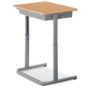 コクヨ(KOKUYO)教育施設用生徒用デスクSSD-NFU6BG-SW650xD450xH760ミリ【机】【スクールセット】【教育施設用家具〈普通教室〉】