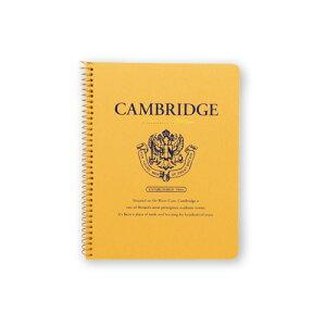『文具』【ROYAL College】 ロイヤルカレッジ・ケンブリッジA5変形 3冊【P908】【ノート】【リングノート】