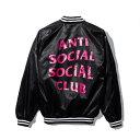 未使用品 2017SS ANTI SOCIAL SOCIAL CLUB アンチソーシャルソーシャルクラブ July 15th Baseball Jacket ベースボー…