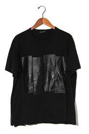 【中古】2019SS DRESSEDUNDRESSED ドレスドアンドレスド Back Printed T-shirt バックプリント Tシャツ 2 BLACK 黒/● メンズ 【ベクトル 古着】 190819 ベクトル 新都リユース