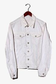 【中古】GAP ギャップ コットン デニムジャケット Gジャン S White 白 /◆ メンズ 【ベクトル 古着】 200917 ベクトル 新都リユース