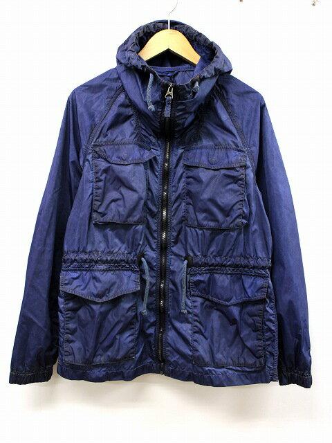 ヴィンテージ55 Vintage55 加工 M-65 アノラックジャケット マウンテンパーカー S 青 ブルー NYLON ANORAK JACKET メンズ 【中古】【ベクトル 古着】 180504 ベクトル 新都リユース