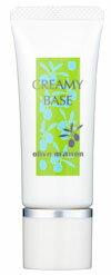 オリーブマノン クリーミィベース25g〈化粧下地・SPF28 PA++〉【コンビニ受取対応商品】