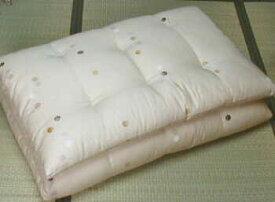 綿100% 手作り純綿敷ふとん シングルサイズ 綿布団【送料無料】02P01Oct16