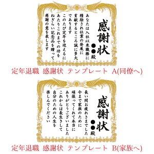 【5号サイズ・生クリーム味】テンプレート文・写真無し定年退職感謝状ケーキ
