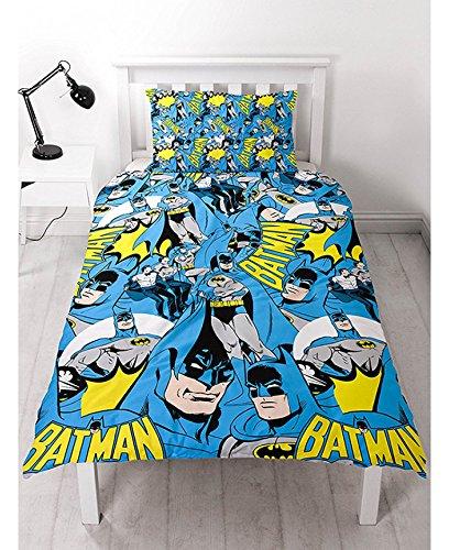 バットマン BATMAN 布団カバー + 枕カバー セット シングル 9647