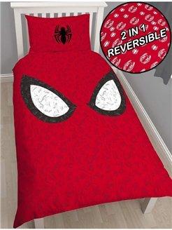 Spiderman スパイダーマン 布団カバー + 枕カバー セット シングル