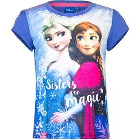 Disney Frozen ディズニー アナと雪の女王 Tシャツ 子供服 半袖 1440B