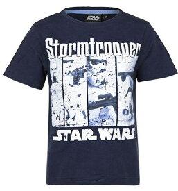 スター・ウォーズ Star Wars Tシャツ 子供服 半袖 1329紺