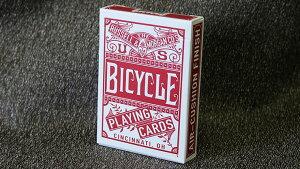 バイスクル BICYCLE トランプ プレイングカード  チェーンレスバック 赤 CHAINLESS RED  Bicycle Playing Cards 米国製 日時指定不可