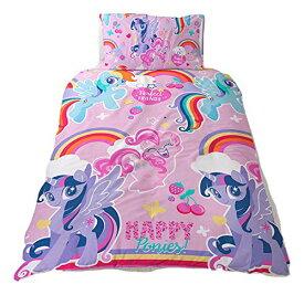マイリトルポニー my little pony シングル 布団カバー+枕カバー セット