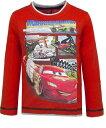 Disney Cars ディズニー カーズ Tシャツ 子供服 長袖 赤