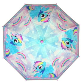 マイリトルポニー 子供用 傘 自動傘 ジャンプ傘 直径75cm My Little Pony umbrella