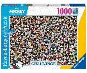 ディズニー ミッキーマウス ジグソーパズル パズル 1000ピース Disney Mickey Challenge Puzzle 70cm x 50cm