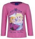 ディズニー アナと雪の女王 Disney Frozen 長袖 Tシャツ 子供用