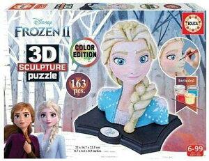 ディズニー アナと雪の女王2 3Dパズル パズル 163ピース  Disney Frozen2 Puzzle