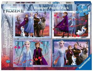 ディズニー アナと雪の女王2 ジグソーパズル パズル 100ピースx4種  Disney Puzzle