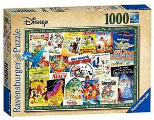 ディズニー ビンテージ・ムービー・ポスター ジグソーパズル パズル 1000ピース  Disney Puzzle