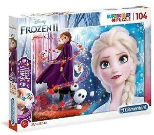 ディズニー アナと雪の女王2 ジグソーパズル パズル 104ピース  Disney Frozen2 Puzzle