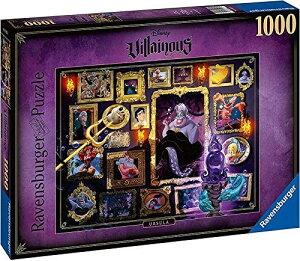 ディズニー・ヴィランズ アースラ リトルマーメイド ジグソーパズル パズル 1000ピース Disney Villainous Ursula