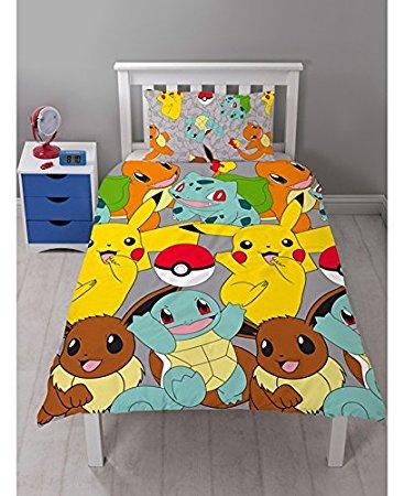 ポケモン Pokemon シングル 布団カバー+枕カバーセット 3751
