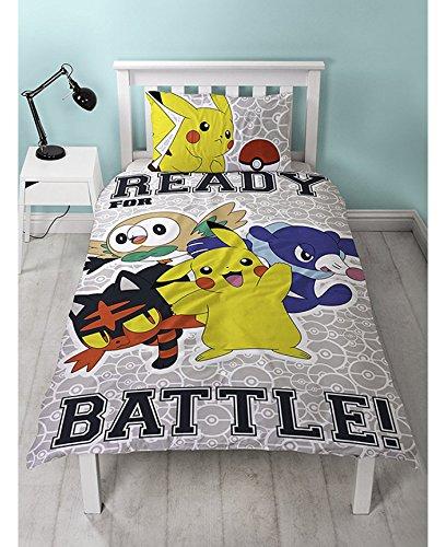 ポケモン Pokemon シングル 布団カバー+枕カバーセット 3002