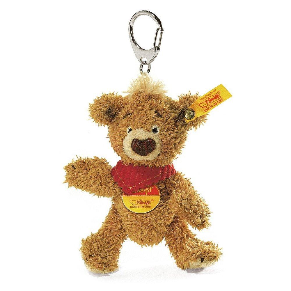 シュタイフ Steiff クノップ テディベア キーリング ブラウン (KNOPF Teddy bear Keyring) 14475 014475