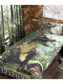 恐竜 T-REX シングル 布団カバー+枕カバー 1727