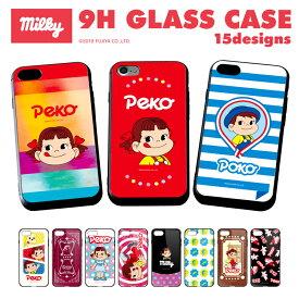 アイフォン8 ケース アイフォン8プラス iPhone8 iPhone8 Plus アイフォン7 アイフォン7プラス iPhone7 iPhone7 Plus カバー HUAWEI P20 LITE GALAXY S9 SC-02K SCV38 HWV32 スマホケース TPU 衝撃吸収 ガラスフィルム 背面ガラス 背面強化ガラス 9H 不二家 ペコちゃん