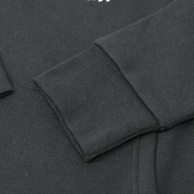★ネットショップ先行販売★しろたんダンス部ユニホームパーカー黒色あざらしアザラシメンズレディースかわいいキャラクター男女兼用【ML】トレーナースウェットフード付き裏起毛ブラックマザーガーデン
