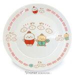 しろたん中華食器餃子皿L単品日本製磁器中華大皿食器餃子あざらしアザラシかわいいキャラクターマザーガーデン