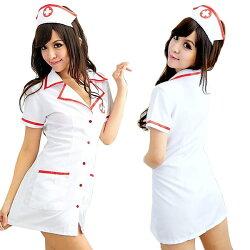 コスプレナースナース服白衣医者セクシー衣装コスプレ衣装仮装ハロウィン看護婦レディース看護師セクシーイベントパーティコスチューム白ピンクホワイト