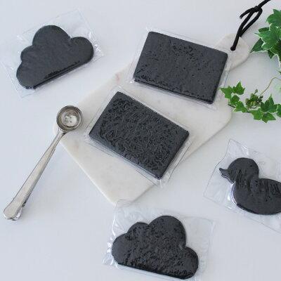 【スポンジ】Kitchendishsponge/キッチンスポンジブラックメール便対応圧縮パッケージ入り
