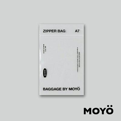 ジッパーバッグSSサイズ(10枚入り)A7/BAGGAGEBYMOYO