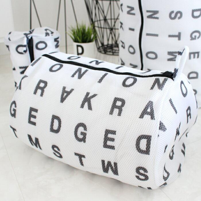【ランドリーネット】アルファベット ランドリーネット 筒型 Lサイズ